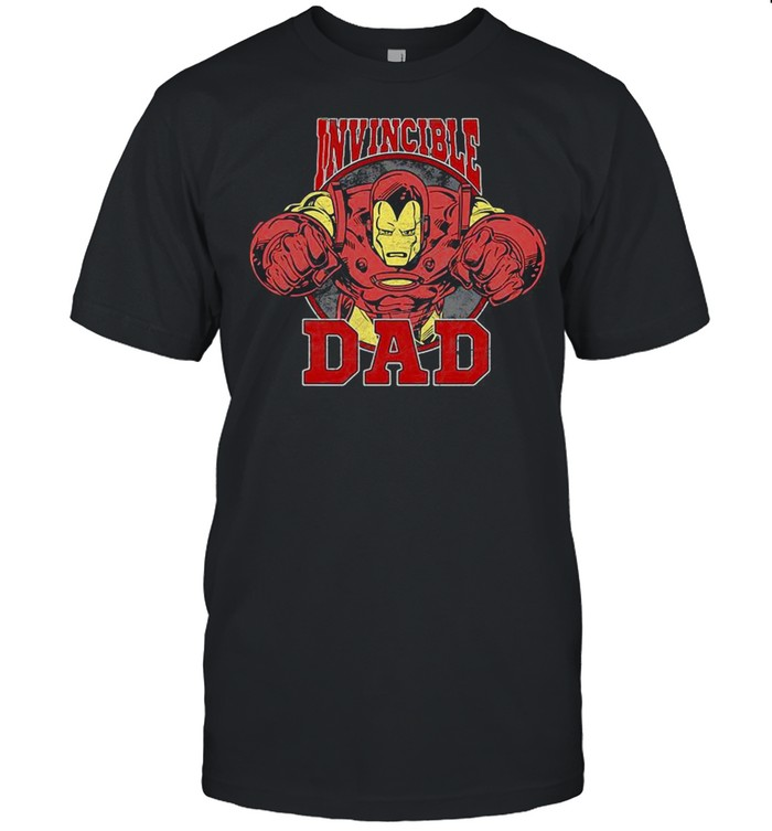 Marvel Iron Man Father's Day Invincible Dad shirt