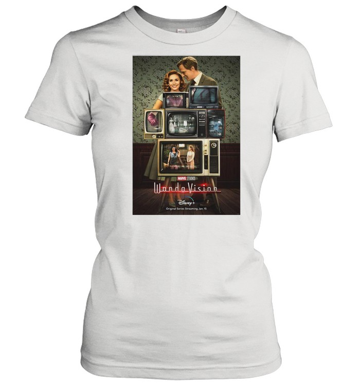 Marvel Wandavision Through The Years shirt Classic Women's T-shirt