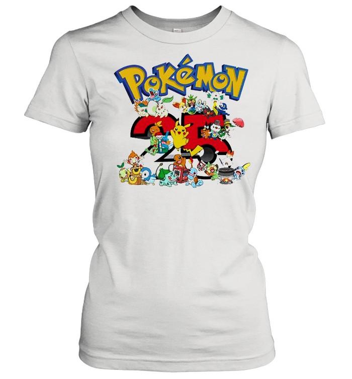 Pokemon 25th Anniversary shirt Classic Women's T-shirt