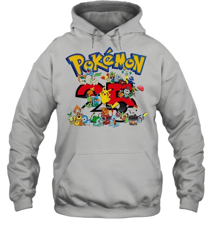 Pokemon 25th Anniversary shirt Unisex Hoodie