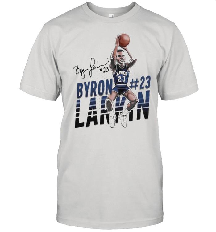 Byron larkin basketball signature shirt