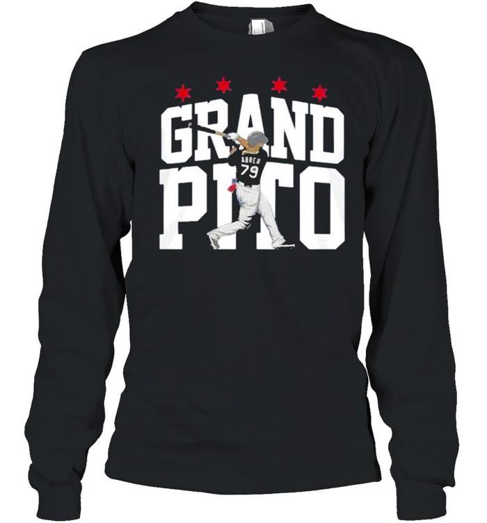 Jose Abreu Chicago White Sox Grand Pito t-shirt Long Sleeved T-shirt