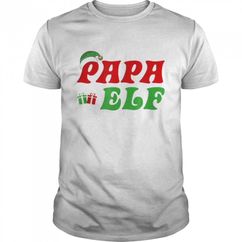 Christmas Santa Papa Elf shirt