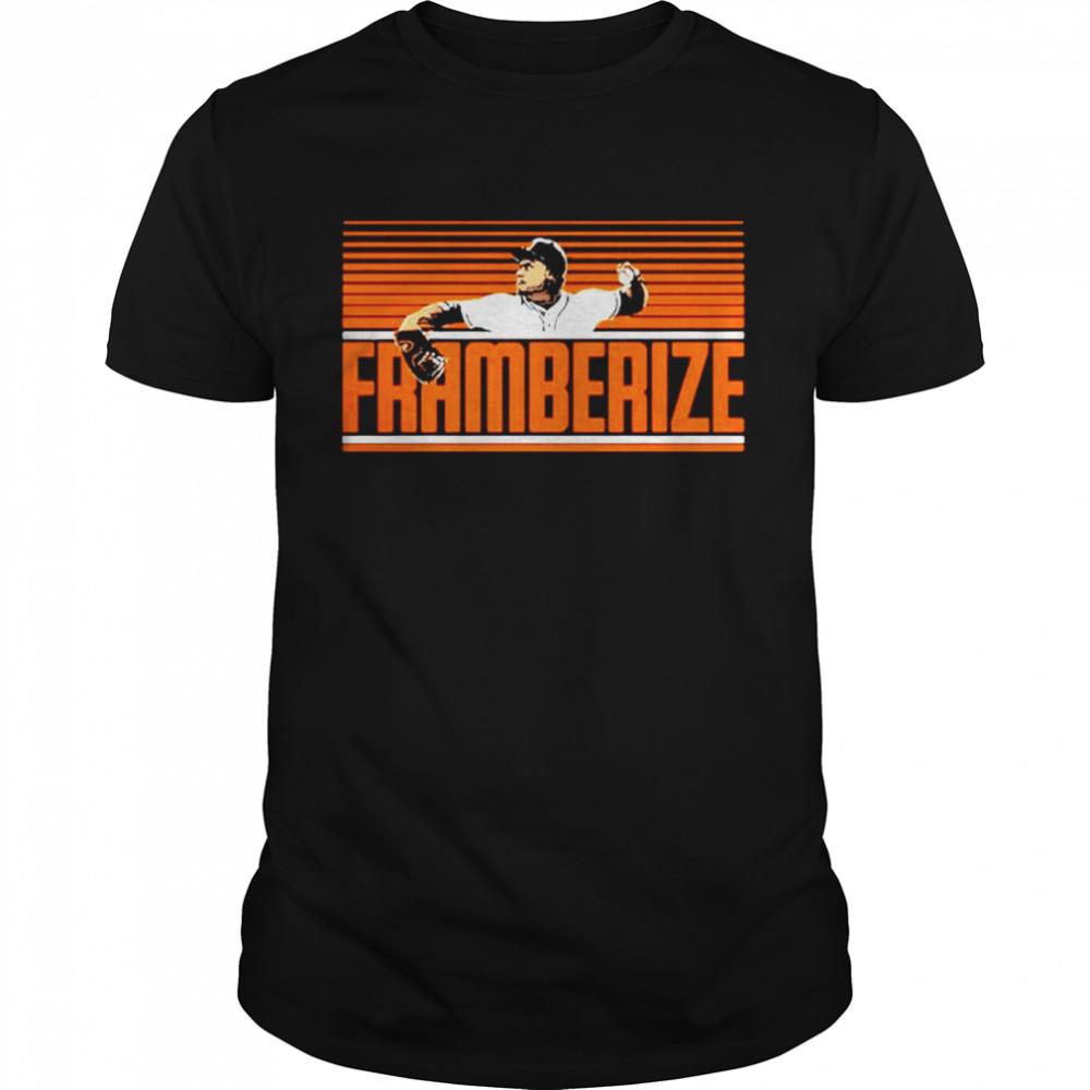 Framber Valdez Framberize Houston Astros shirt