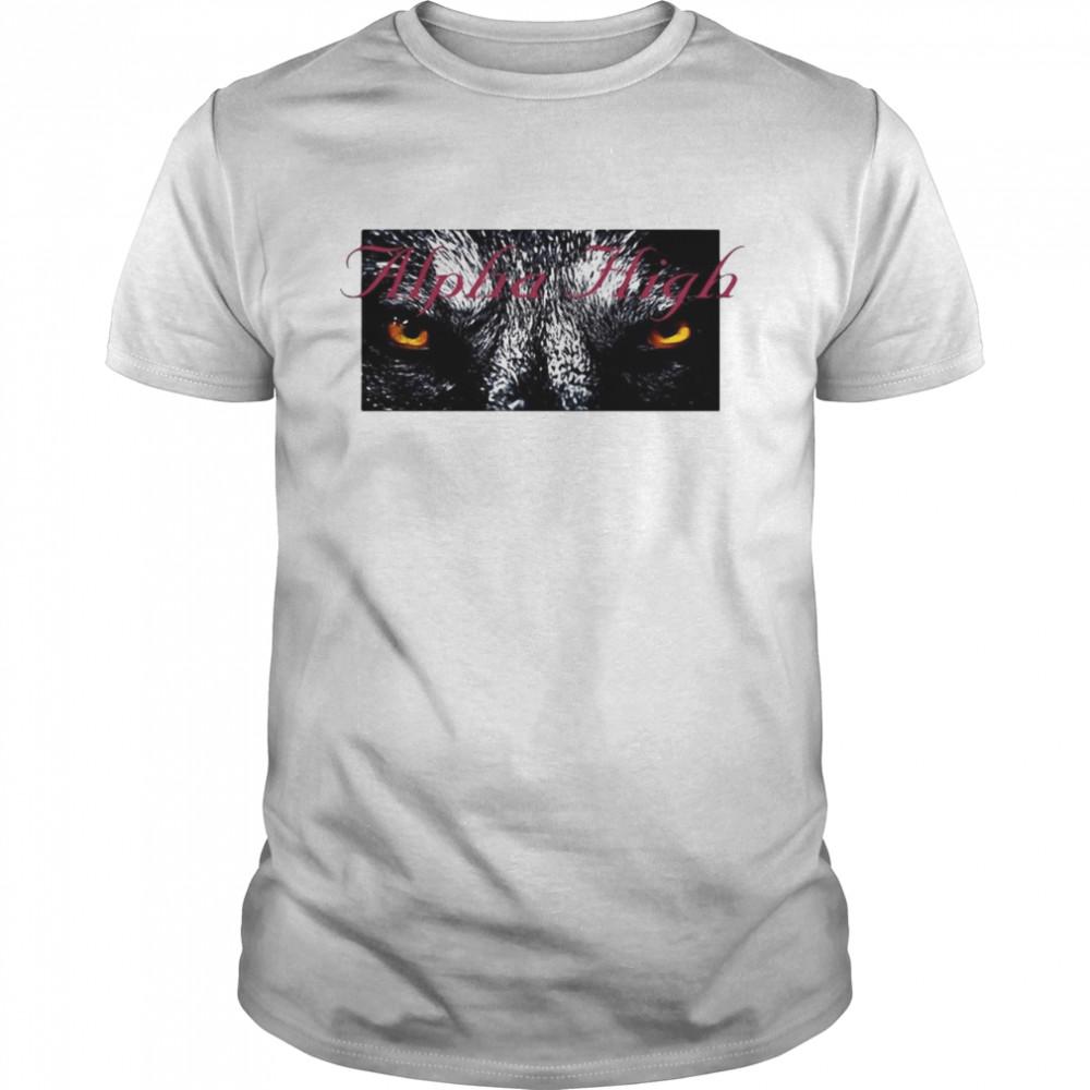 Night Wolf Pullover Alpha High T-shirt