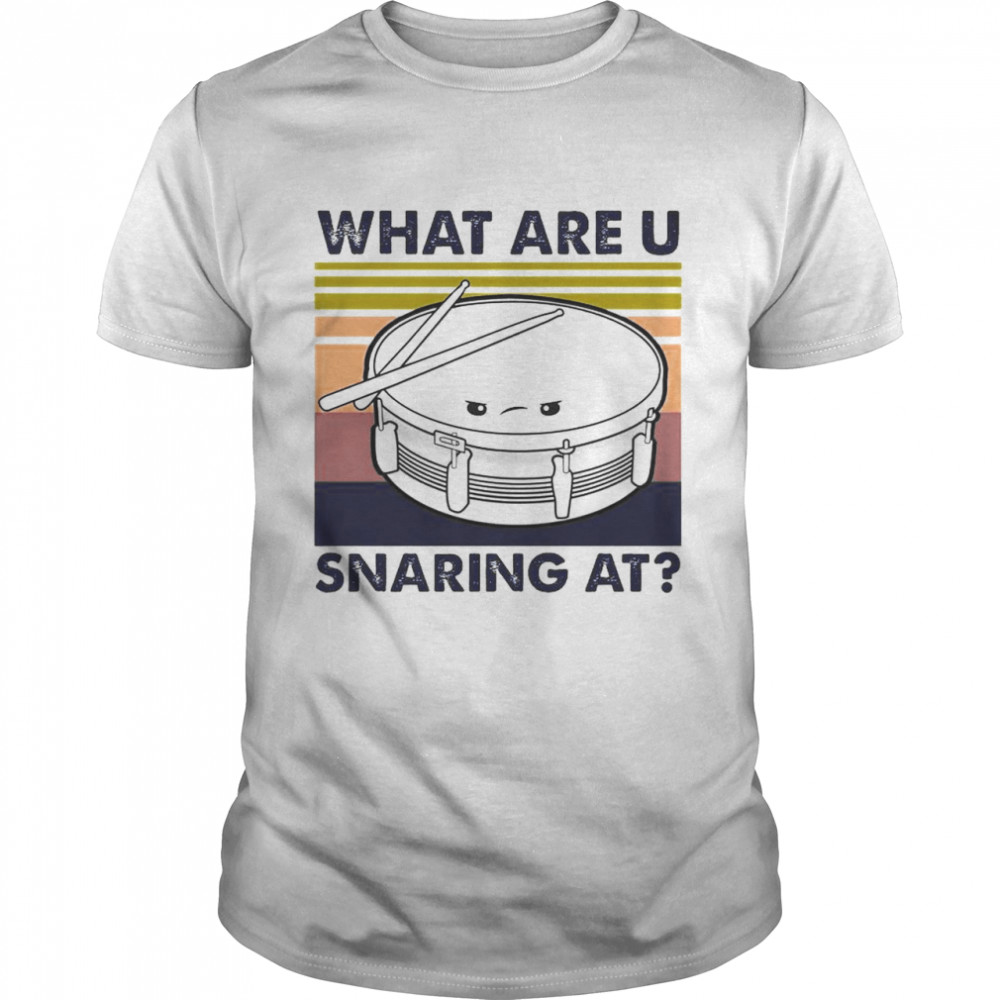 what Are U Snaring At Vintage shirt
